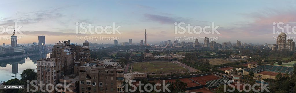 Cairo skyline stock photo