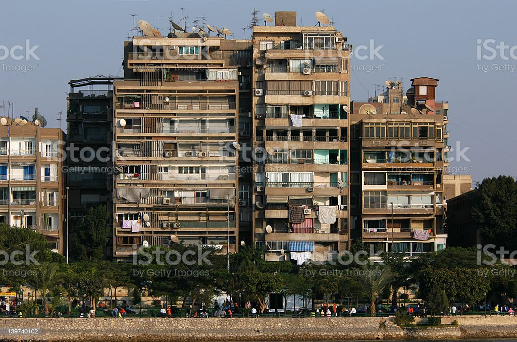 Cairo Skyscrapers royalty-free stock photo