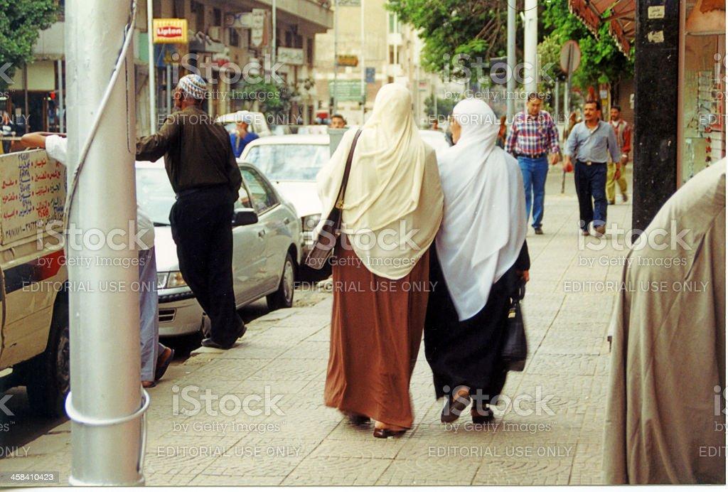 Cairo Street Scene stock photo