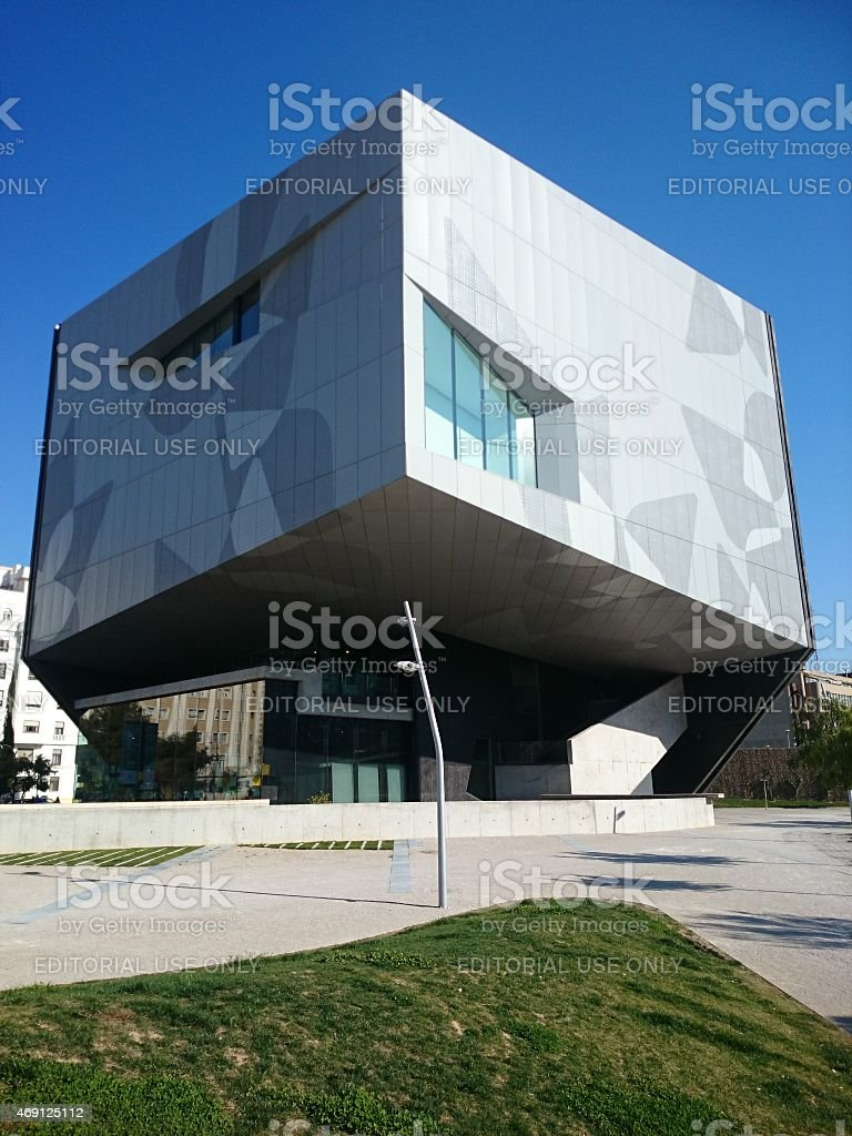 Caixa Forum Zaragoza stock photo