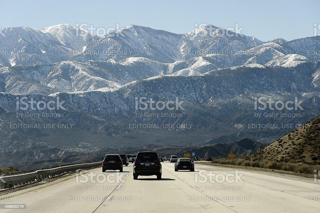 Cajon Pass stock photo