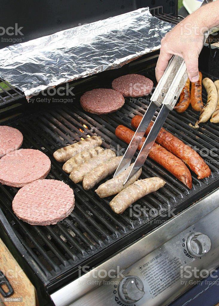 Cajun BBQ stock photo