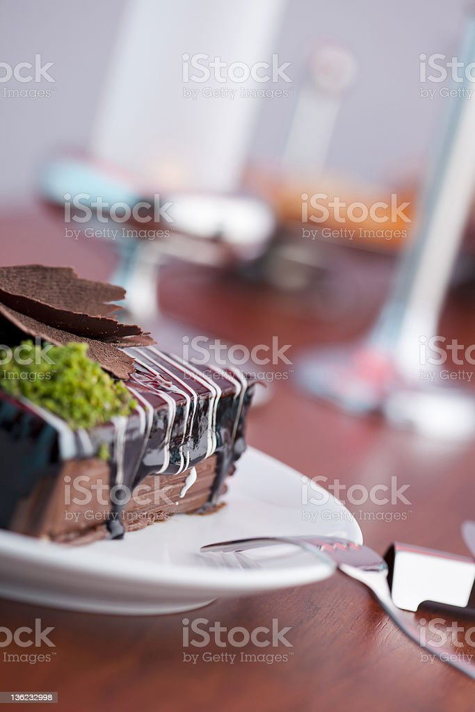 Cake and Table Accessories royalty-free stock photo