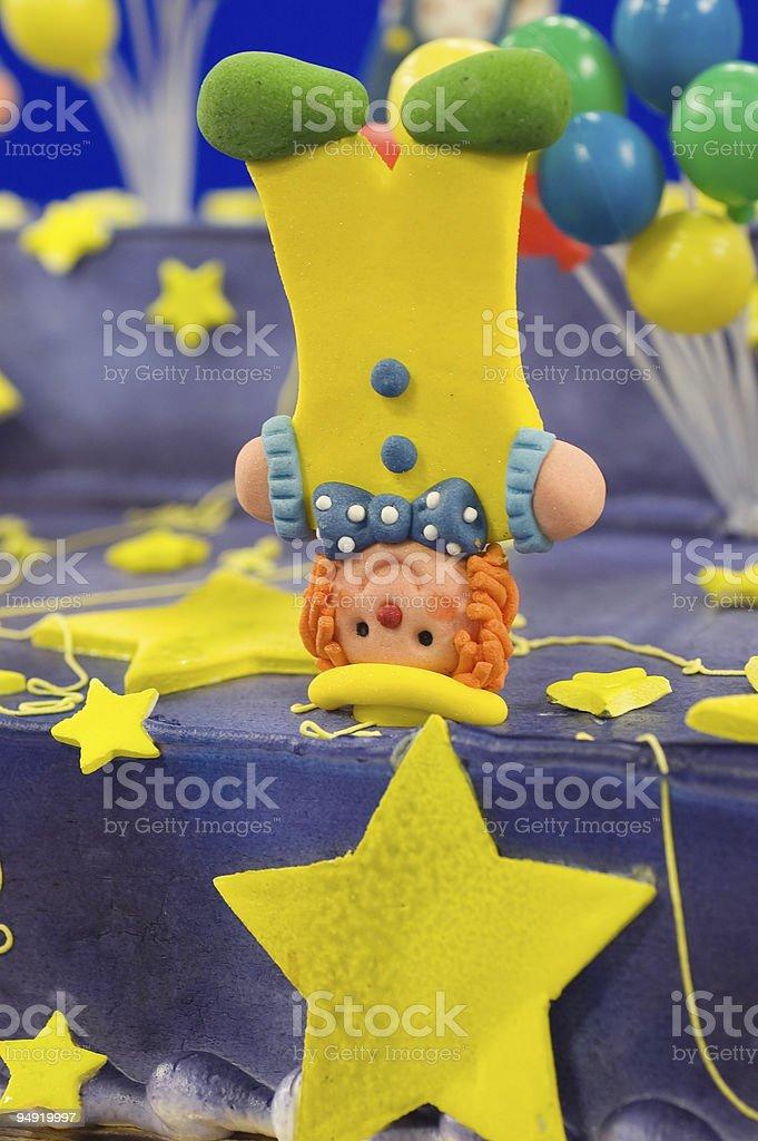 Cake clown royalty-free stock photo