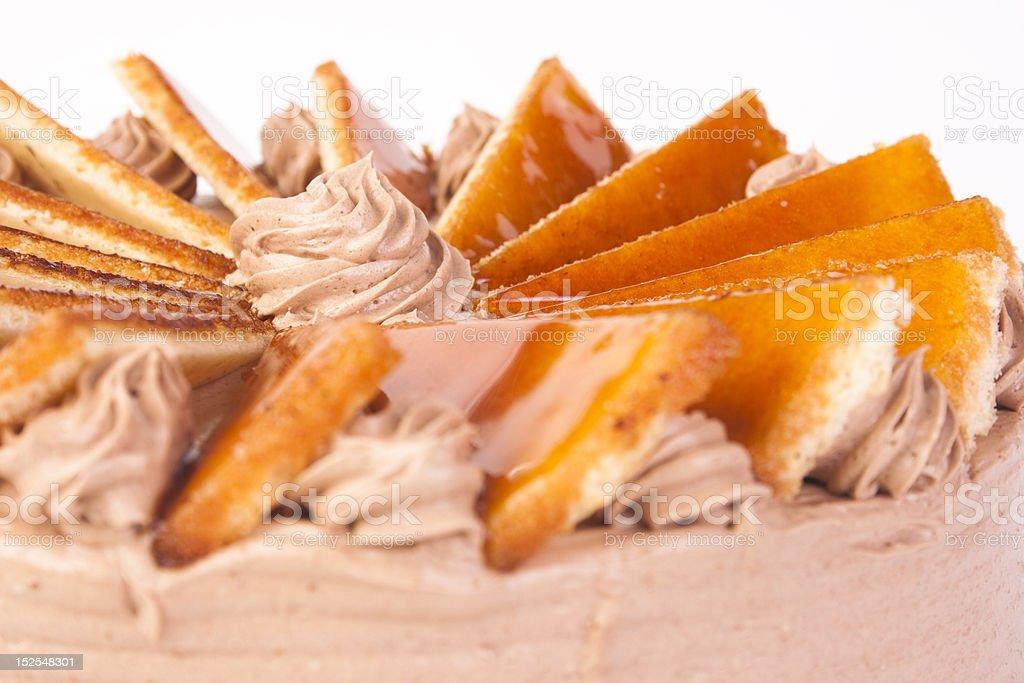 Cake decoration royalty-free stock photo