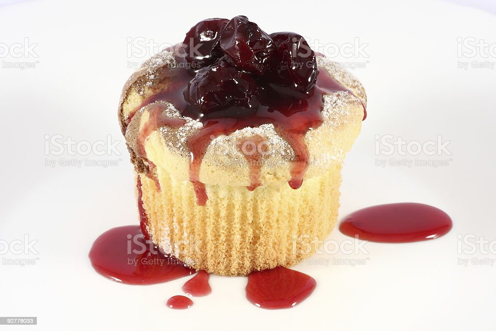 Cake in syrup stock photo