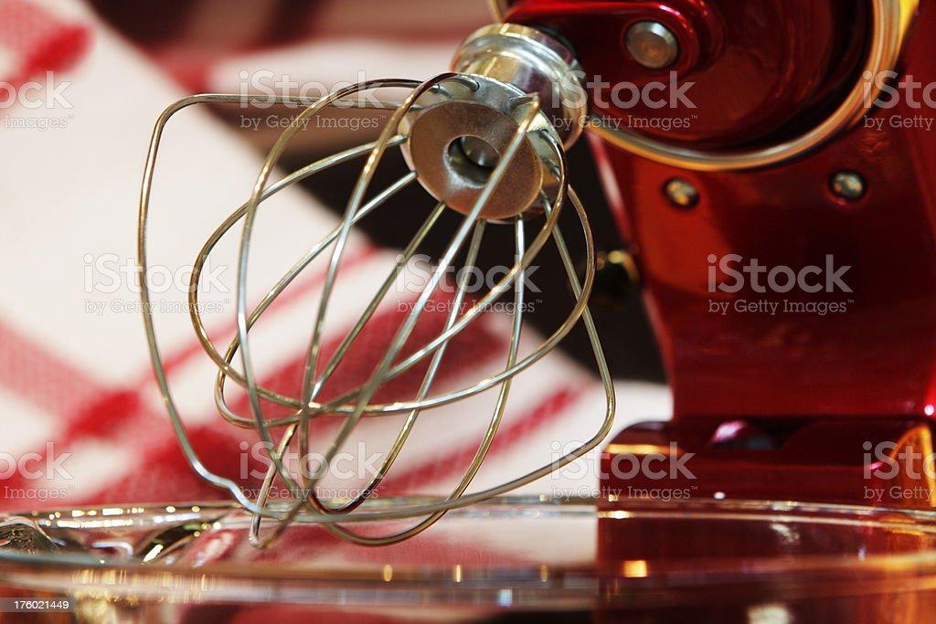 Cake Mixer Wire Whisk Kitchen Appliance stock photo