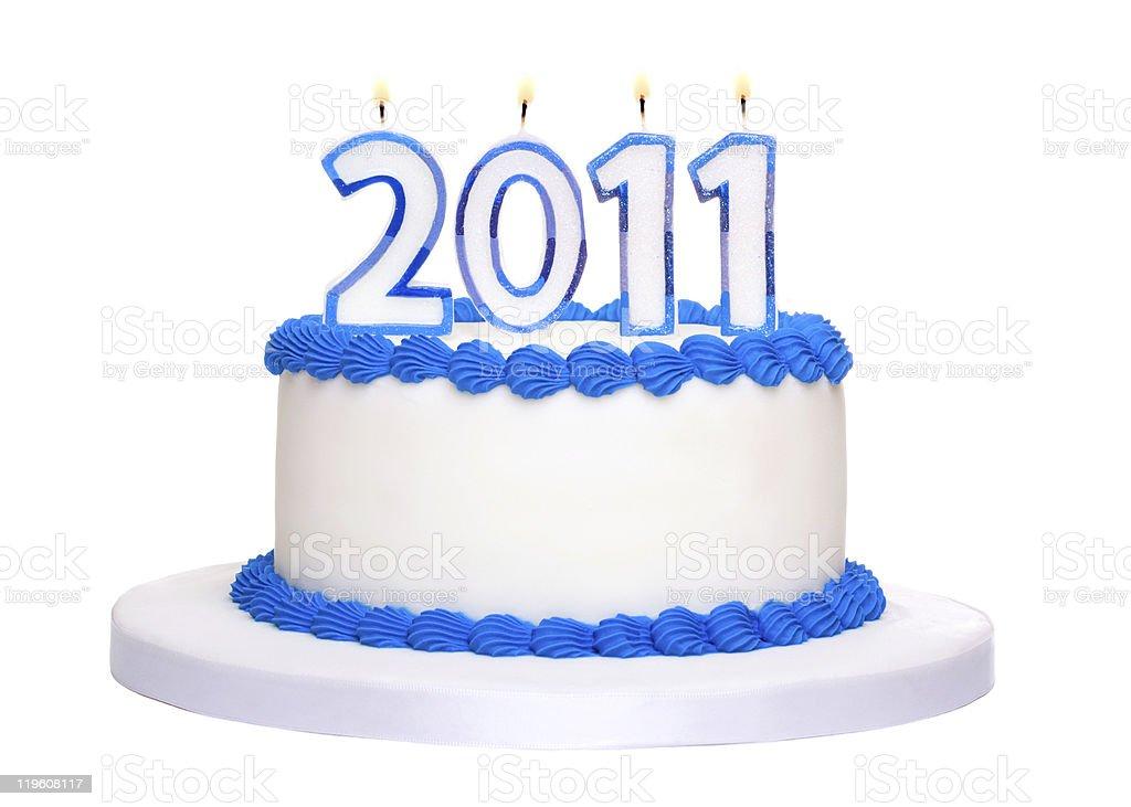2011 Cake stock photo