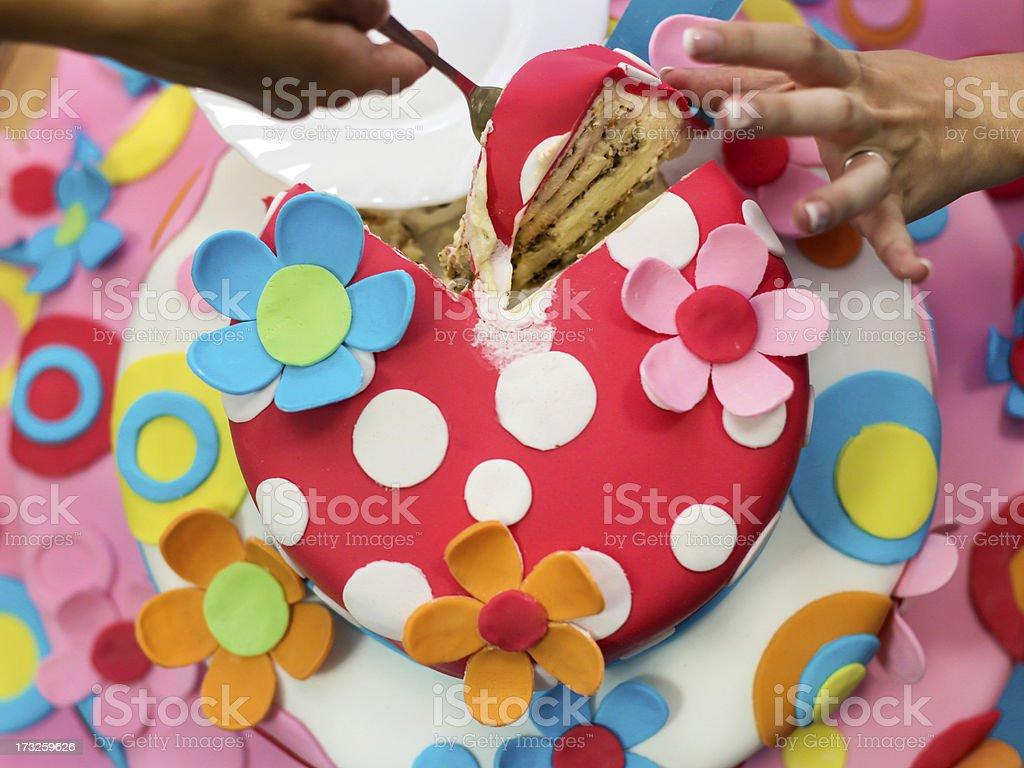 Cake royalty-free stock photo