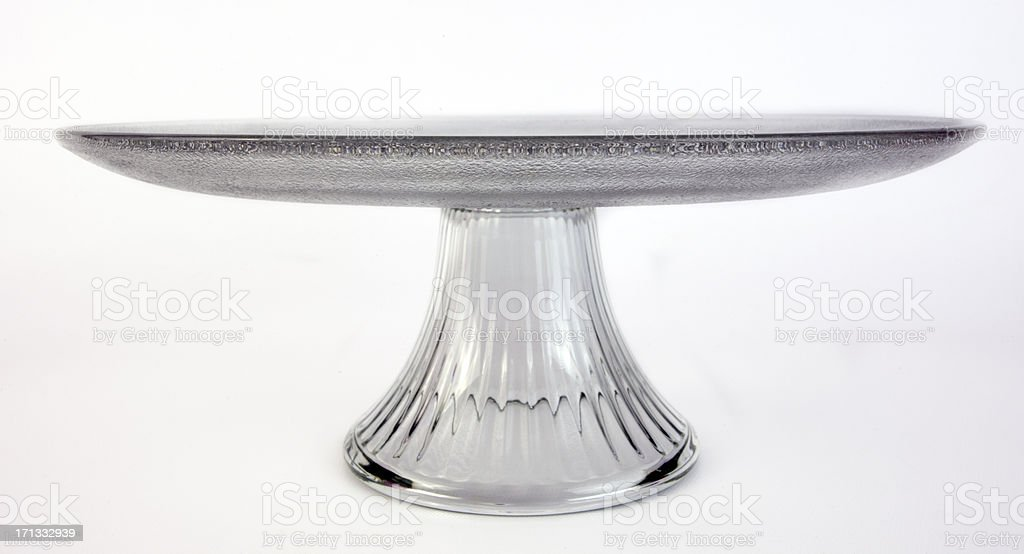 Cake Plate stock photo
