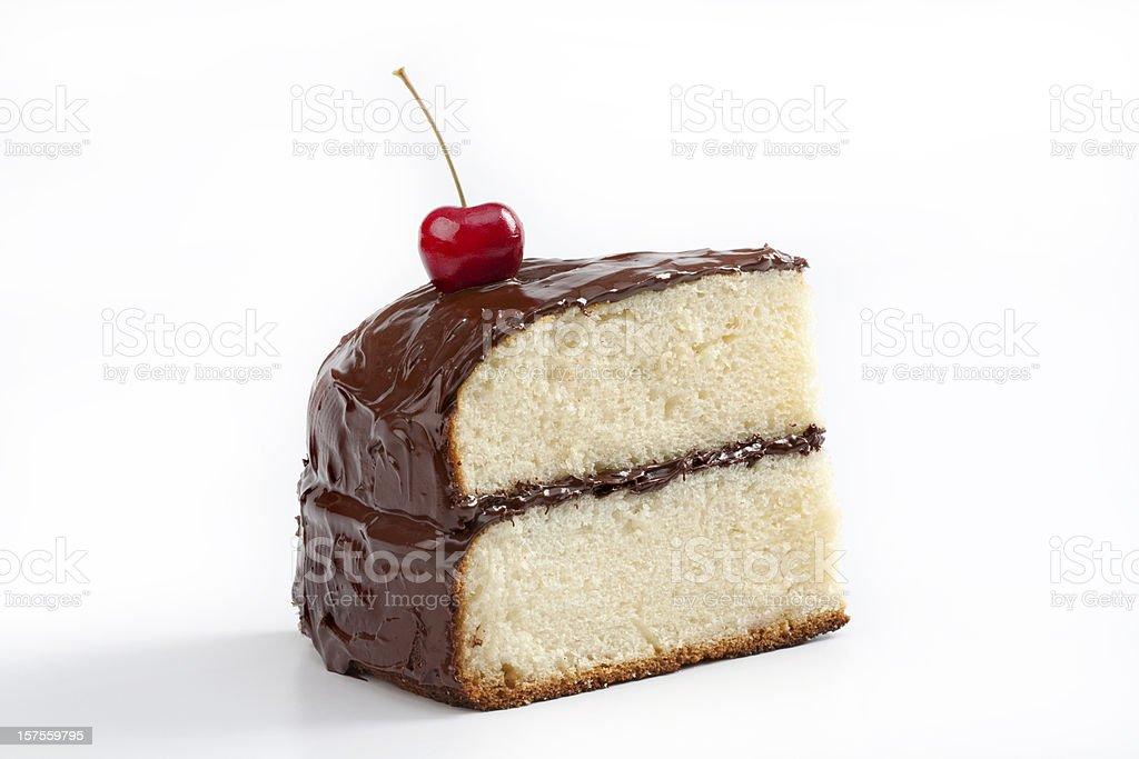 Cake portion stock photo