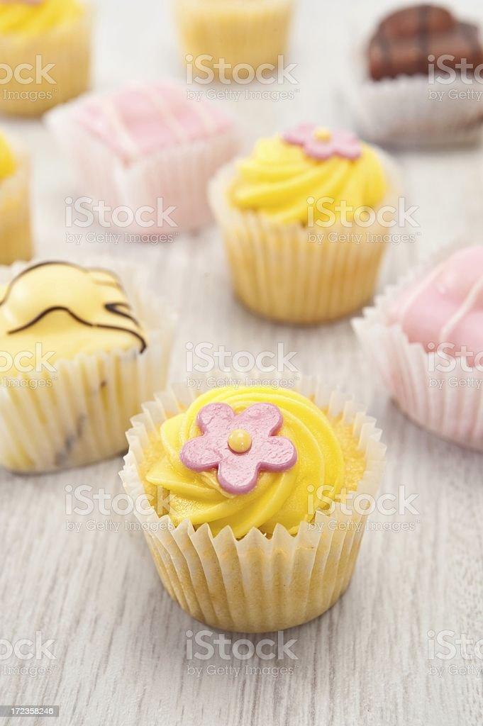 Cake Selection stock photo