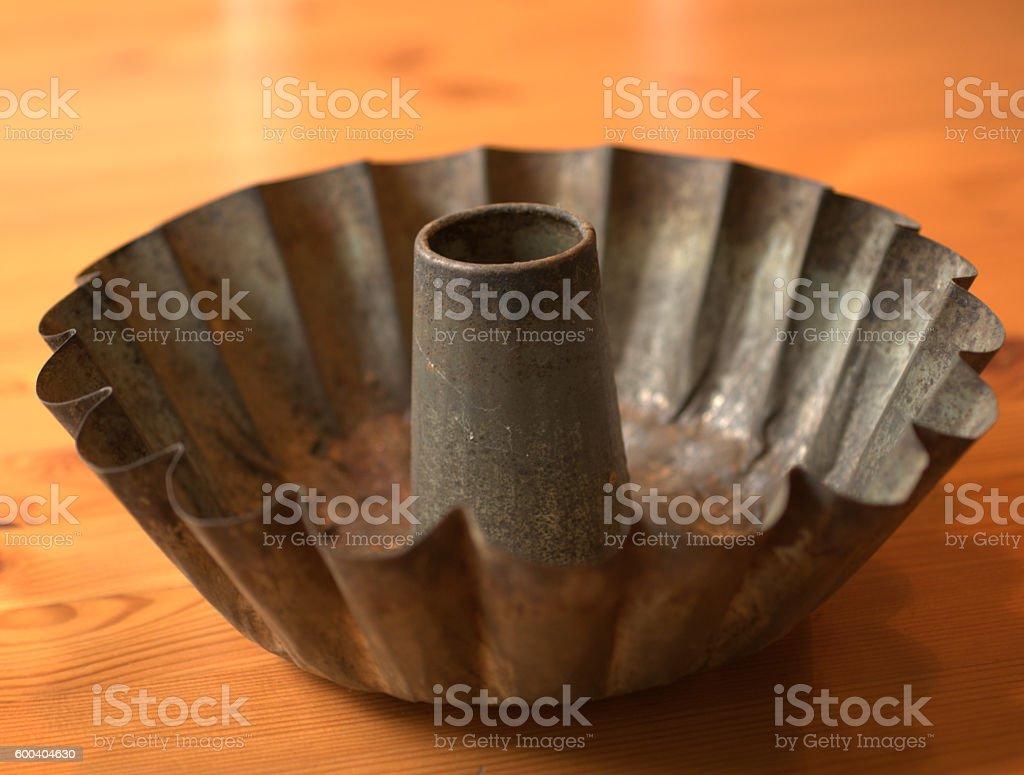 Cake tin stock photo