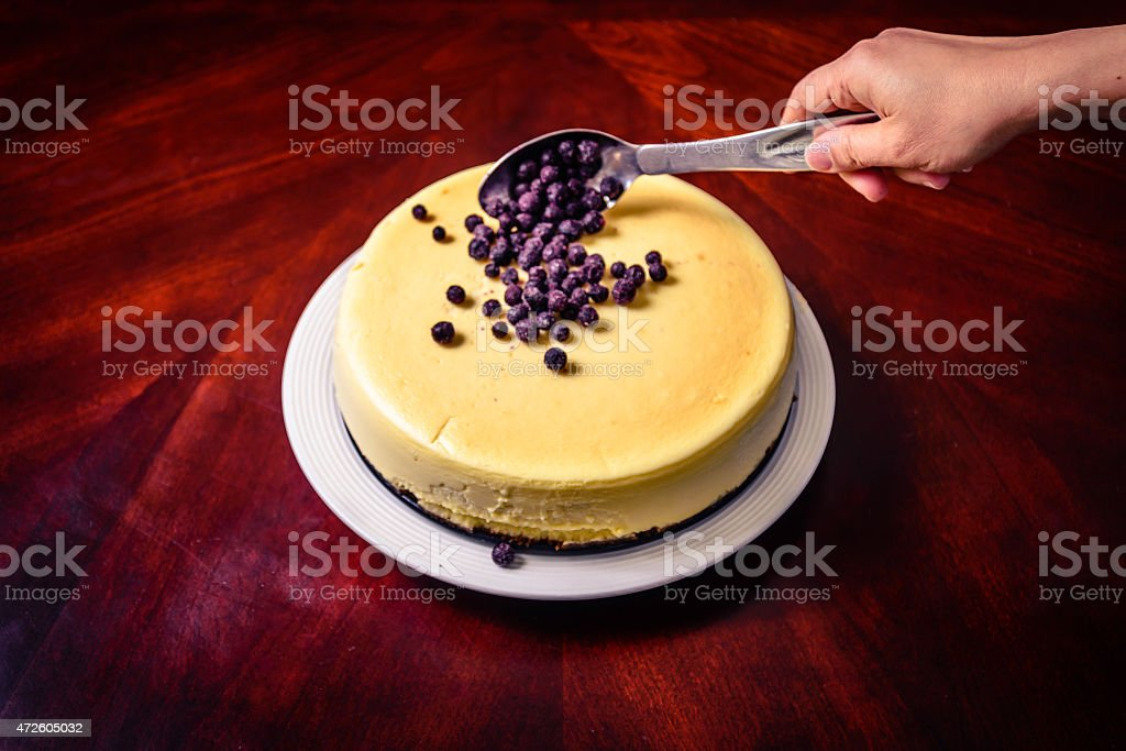 Cake Topping stock photo