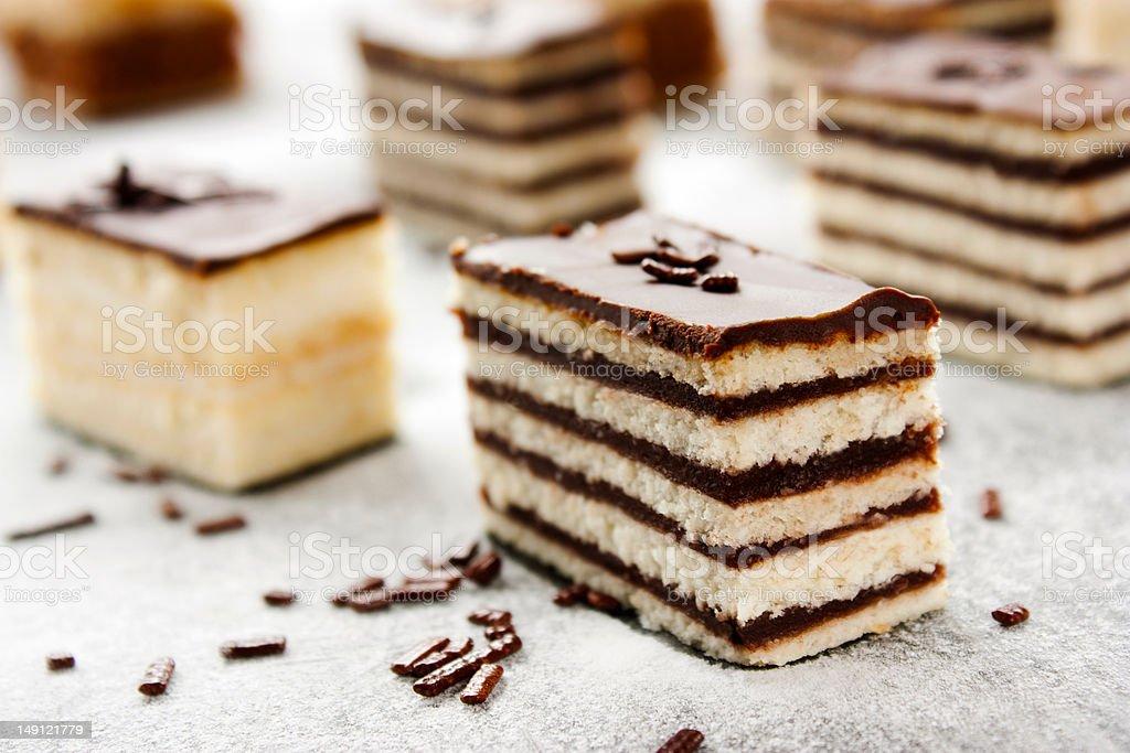Cake variety royalty-free stock photo