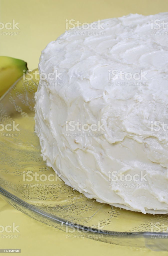 cake with frosting stock photo