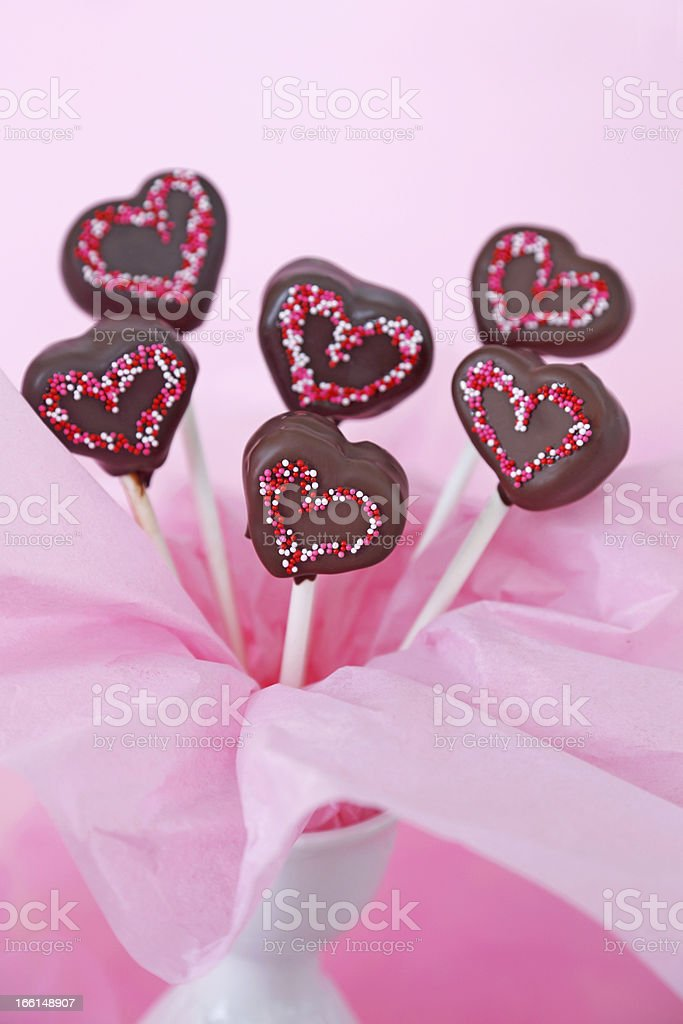 Cakepops royalty-free stock photo