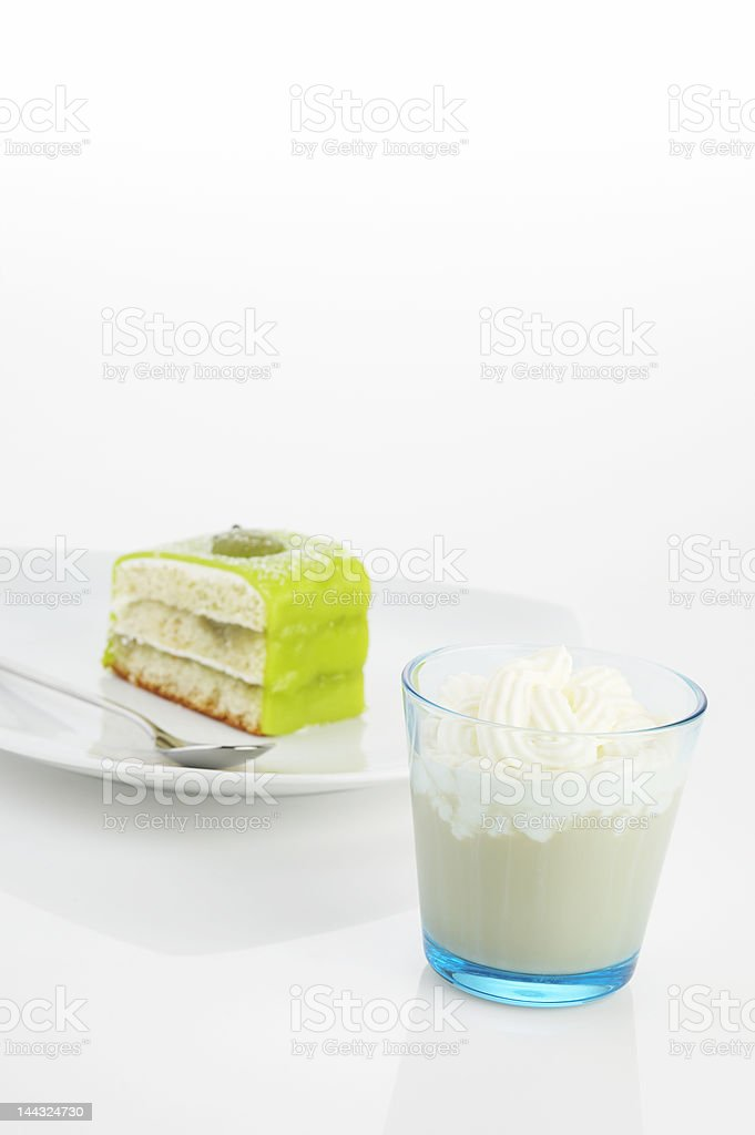 cakes and frappucino royalty-free stock photo