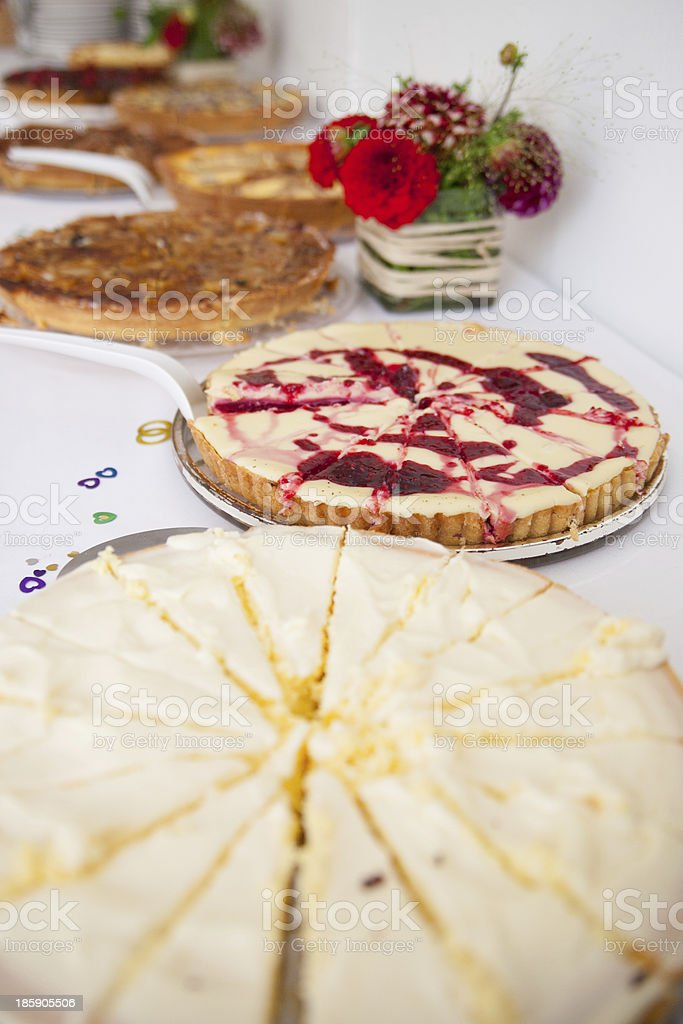 Cakes and Tartes royalty-free stock photo