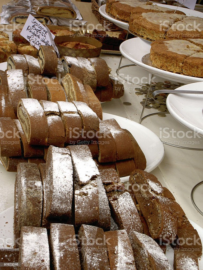 Cakes! royalty-free stock photo