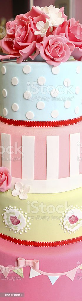 Cakes pile royalty-free stock photo