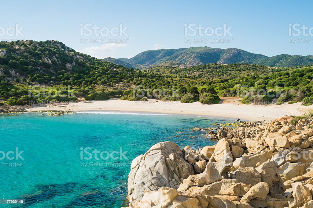 Cala Cipolla stock photo