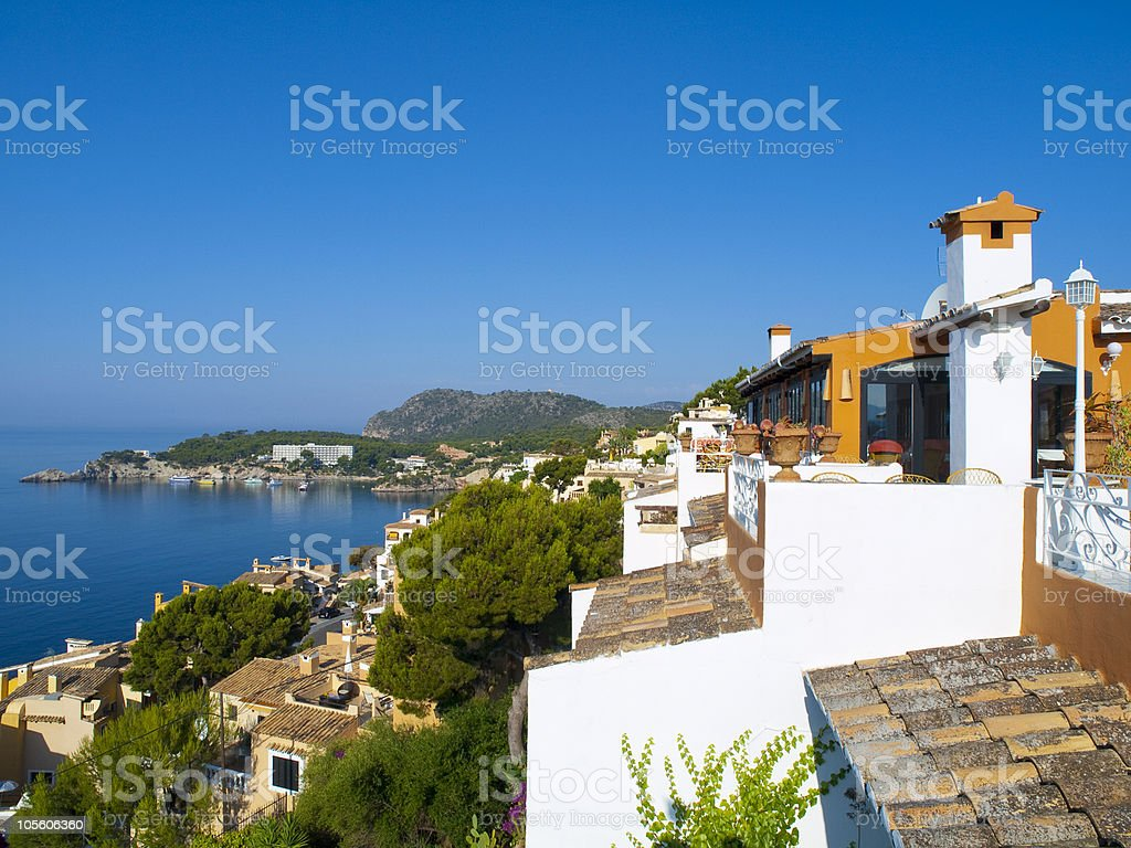 Cala Fornells, Mallorca stock photo