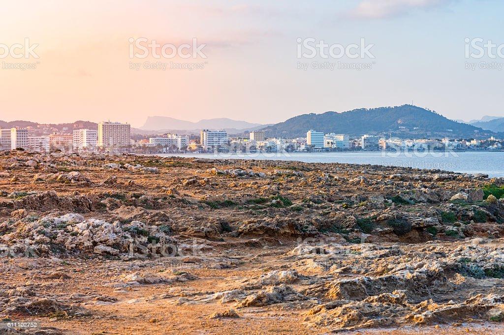 Cala Millor, Majorca stock photo