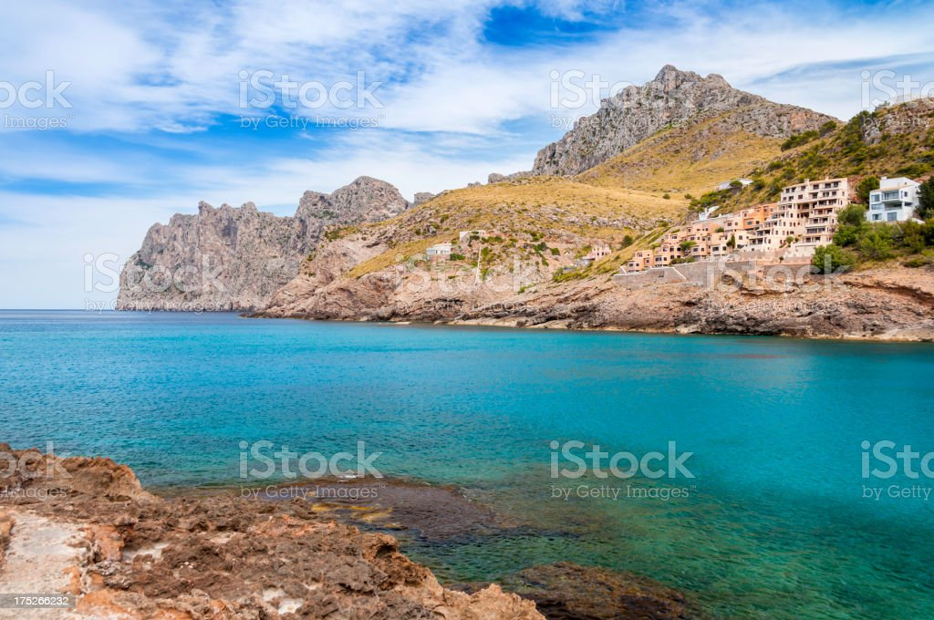 Cala San Vicente - Majorca royalty-free stock photo