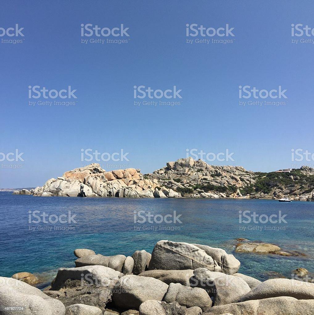 Cala Spinosa bay Santa teresa di Gallura North Sardinia Italy stock photo