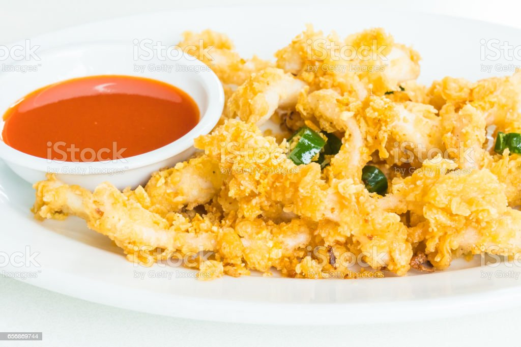 Calamari stock photo