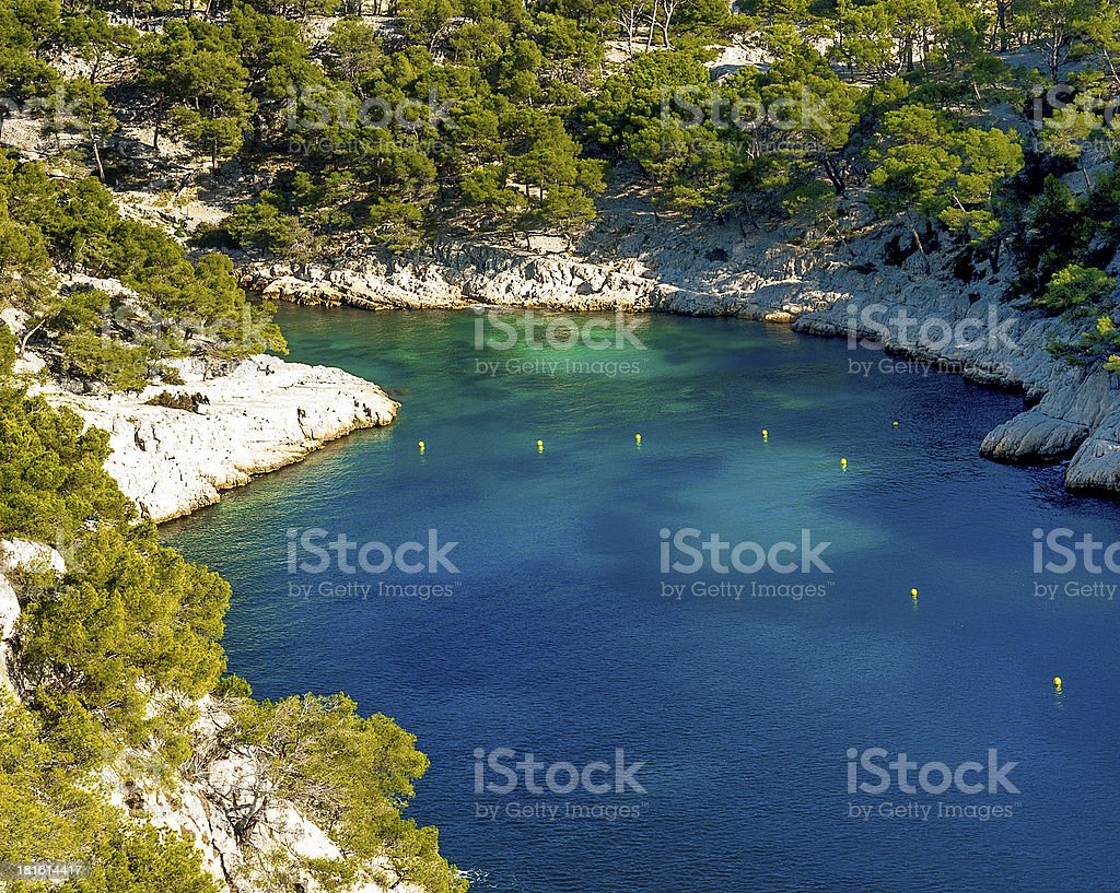 calanque  of Cassis royalty-free stock photo