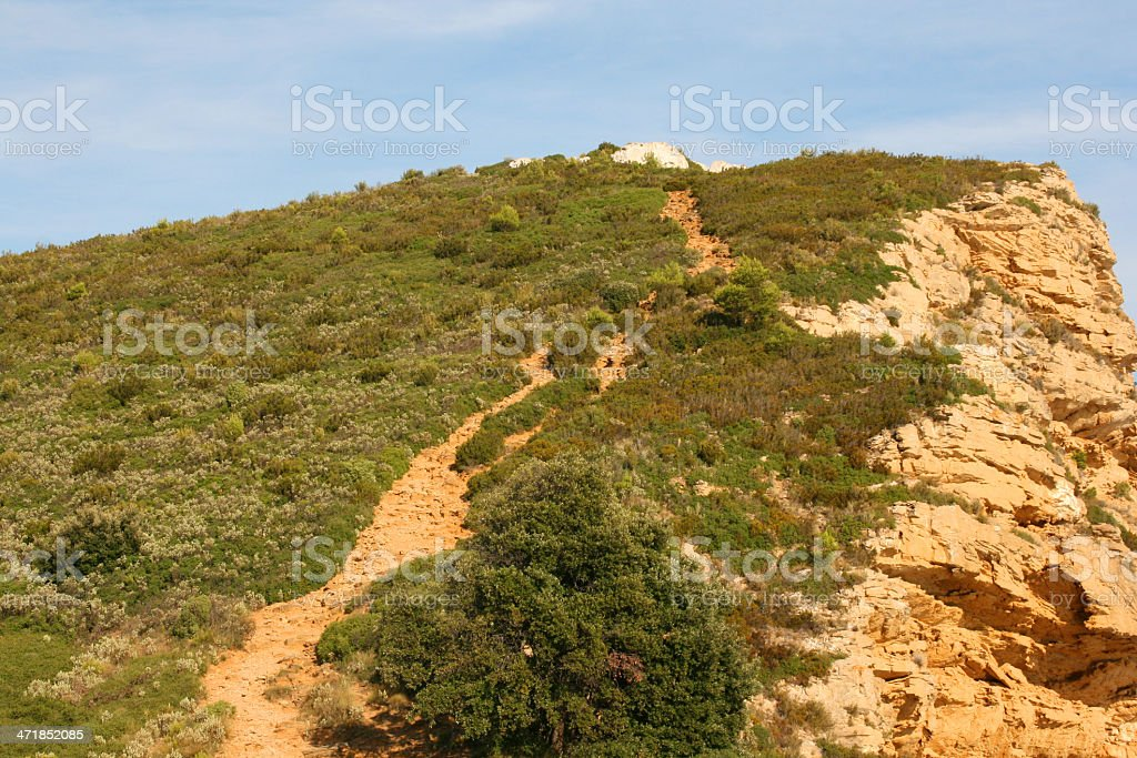 Calanques of Cassis in the french riviera, France. royalty-free stock photo