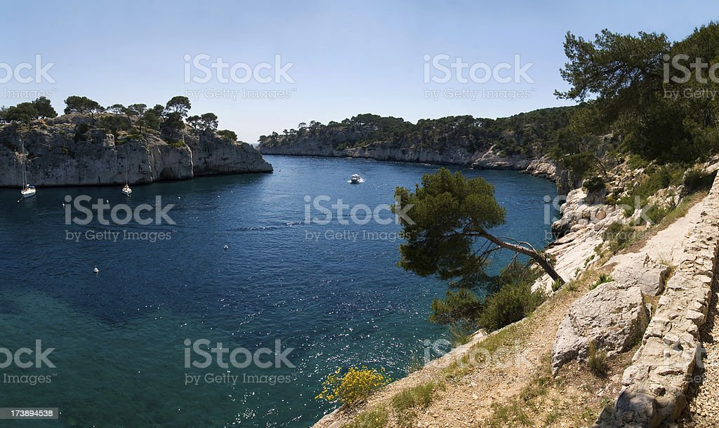 Calanques (XXL) royalty-free stock photo