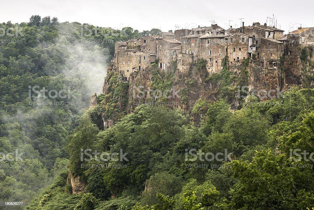 Calcata in Lazio, Italy royalty-free stock photo