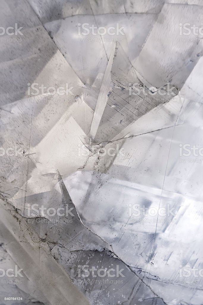 Calcite crystal mineral stone background stock photo