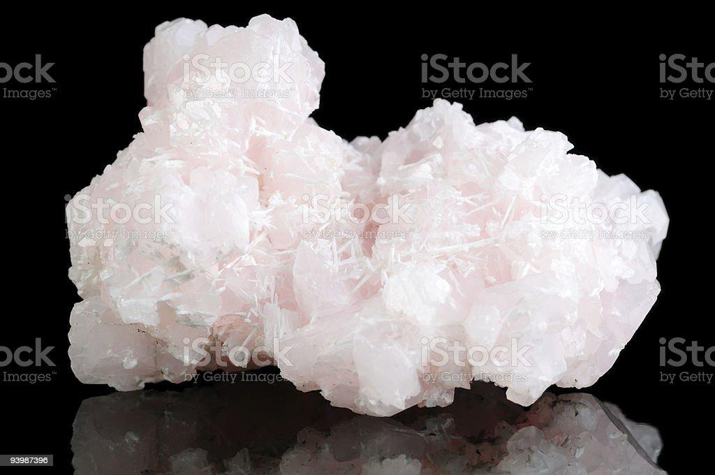 Calcite Mineral stock photo