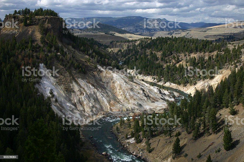 Calcite Springs stock photo