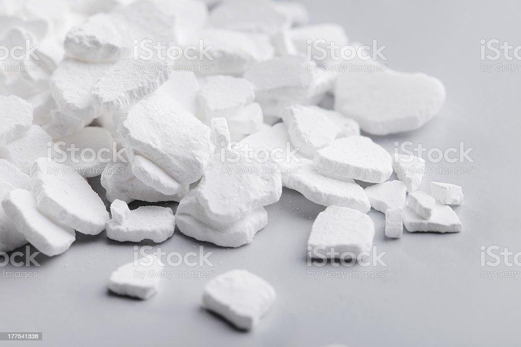 Calcium Chloride stock photo