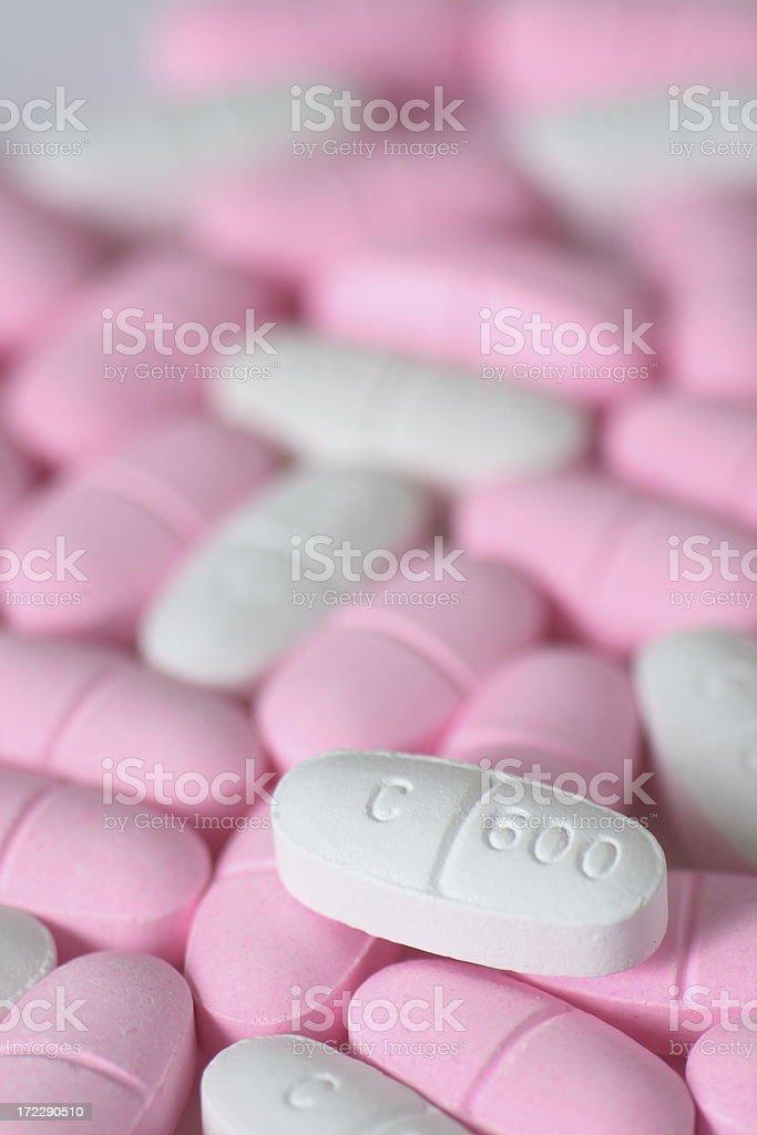 calcium pills royalty-free stock photo