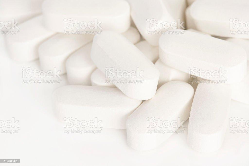 Kalzium und Vitamin-Zusatzpräparate – Foto