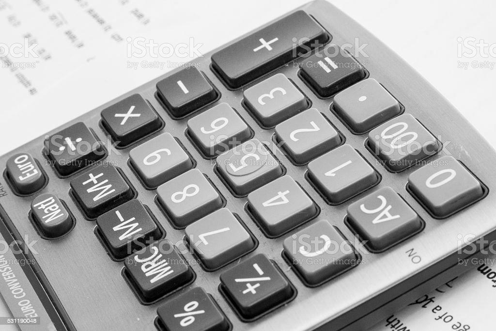 Calculadora stock photo