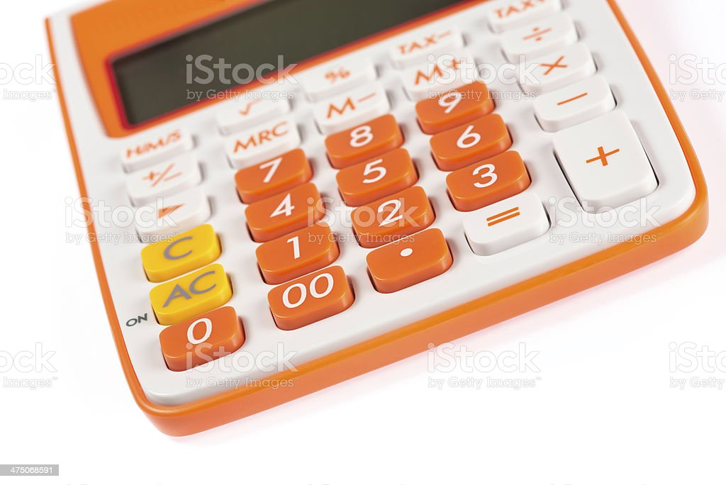 Calculate It royalty-free stock photo