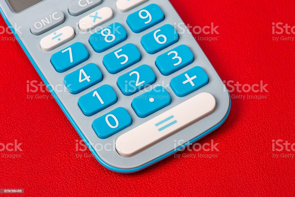 Calculater stock photo