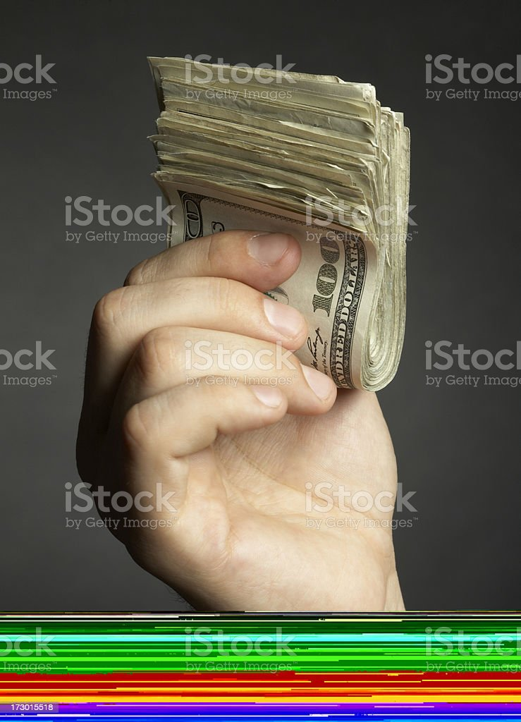 Calculating Company Direction stock photo