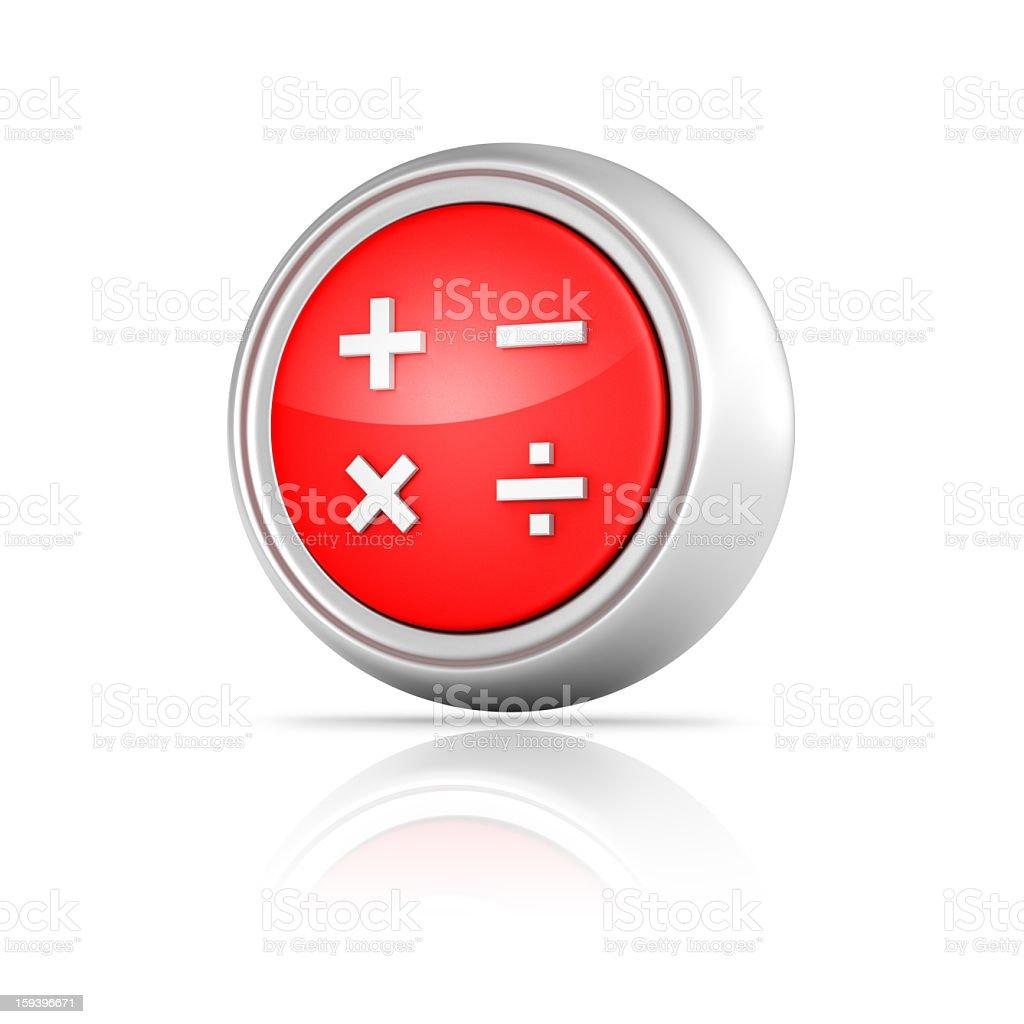 Calculator Icon royalty-free stock photo
