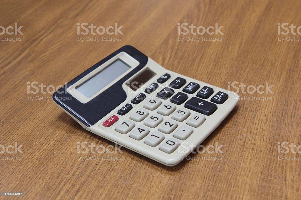 Calculator. royalty-free stock photo