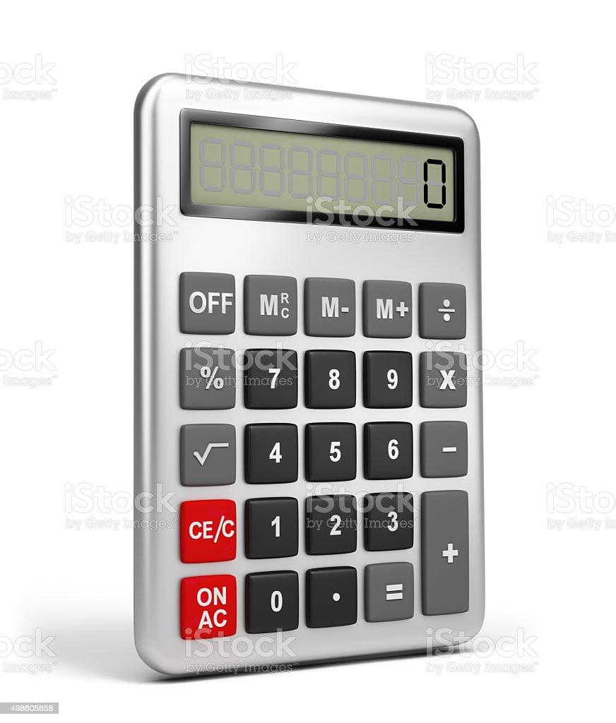 Calculator vector art illustration
