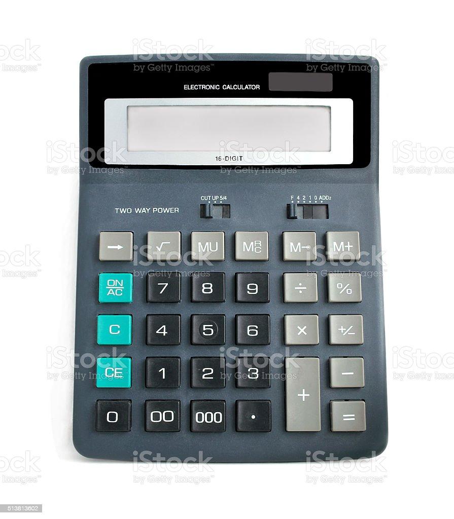 Calculator. stock photo