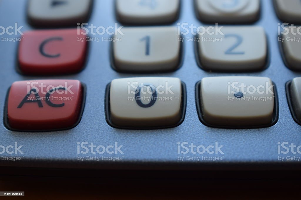 Calculator. stock photo